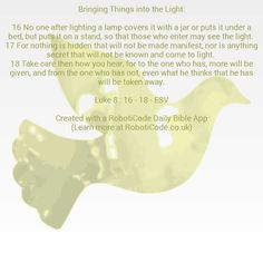 """#Bible verse found with """"Words of Jesus Each Day"""" for Android, iPhone and Kindle Fire! http://www.roboticode.co.uk"""