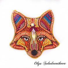 * Beaded Brooch, Beaded Earrings, Beaded Jewelry, Bead Embroidery Jewelry, Beaded Embroidery, Bead Crochet Rope, Fabric Beads, Beaded Animals, Bead Art