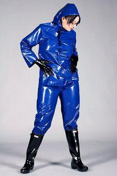 Pvc Rainwear On Pinterest Raincoat Heavy Rubber And