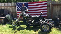 Jeff White Street Legal Custom Trikes