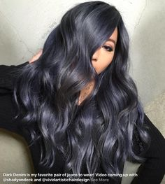 My hair is a disaster, would love to get my hair done by Guy Tang! By Guy Tang - Dark Denim