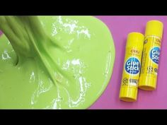 Diy slime out of body wash non stick slime you can play with how to make fluffy slime with glue sticks and shaving gel no boraxliquid starch or shampoo ccuart Choice Image