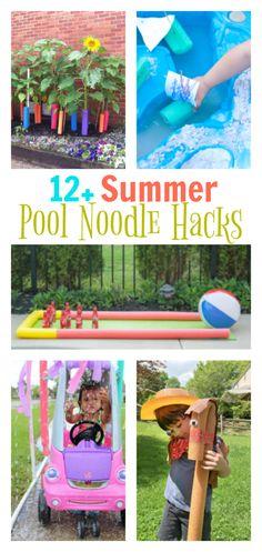 Summer Pool Noodle Hacks