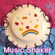 Music craft tambourine  sc 1 st  Pinterest & Paper Plate Tambourine   Glitter glue Markers and Craft