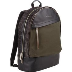 Westbrook XO Barneys New York x WANT Les Essentiels de la Vie Canvas, Leather & Haircalf Kastrup Backpack.