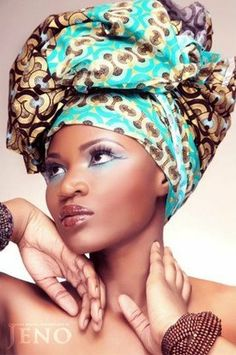 Its African inspired......join The Art of the Head Wrap presented by Imani Aisha Creations St.Louis, Missouri www.ImaniAisha.com
