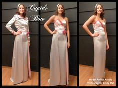 Cupids bow Pink Martini, Cupid, My Design, Bows, Formal Dresses, Model, Collection, Fashion, Moda