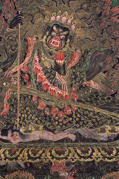 Mahakala, Protector of Buddhist Monasteries - Tibet circa 19th century