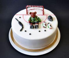 Hockey bear — Birthday Cakes