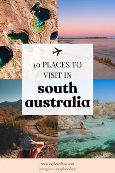 Start planning your next adventure with 10 places to visit in South Australia that offer amazing landscapes & beaches & unforgettable wildlife experiences. Australia Travel Guide, Visit Australia, South Australia, Beautiful Places To Travel, Cool Places To Visit, Places To Go, New Zealand Itinerary, New Zealand Travel, Backpacking South America