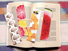 Honey Bee Bookmark Card Bookmark Nature by TheTastyPainter on Etsy