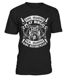 Tshirt  Real Grandpas Ride Motorcycle T-Shirt - Biker Grandpa Shirt  fashion for men #tshirtforwomen #tshirtfashion #tshirtforwoment
