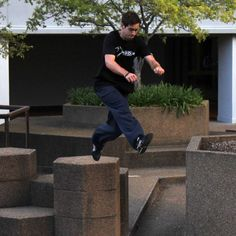 Unicycle hockey, parkour and other offbeat sports Canberrans loves #extremesport