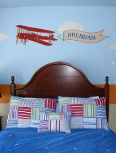 Transportation Room Theme Ideas, Trains, Planes, Boats Rooms for Boys