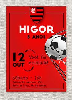 9d6cac8c3a Que tal inovar no design para deixar o convite do Flamengo super atrativo