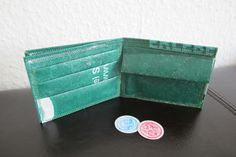 Geldbörse aus gebügelten Plastiktüten