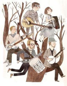 Carson Ellis, artist   Carson Ellis