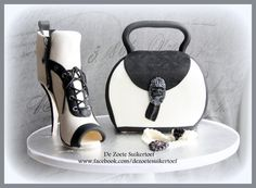 Chanel purse and sugar high heel. by De Zoete Suikertoef