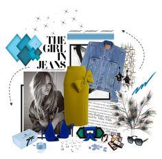 """Girl in Jeans"" by maja037 ❤ liked on Polyvore featuring West Elm, WALL, Balenciaga, Roksanda, Kendall + Kylie, Balmain, Swarovski, Lanvin, Oscar de la Renta and Marni"