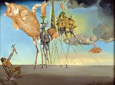 Salvador Dalí, The Irresistible Temptation of St. Anthony