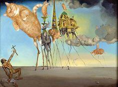Salvador Dalí, ''La irresistible tentación de San Antonio''