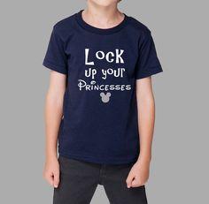 Lock Up princesses T Shirt // disney shirt // funny by HappyTeeDay