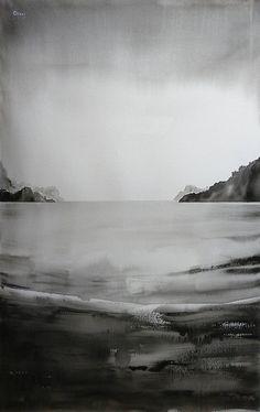 "Saatchi Art Artist OSCAR ALVAREZ; Painting, ""Landscape 15"" #art"