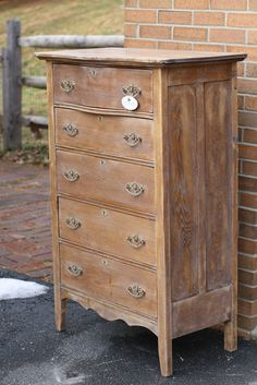 washed wood dresser - Google Search