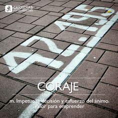 Definición: coraje