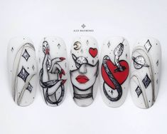 Animal Nail Designs, Nail Art Designs, Hippie Nails, Nail Art Stripes, Summer Acrylic Nails, Beautiful Nail Art, Stiletto Nails, Nail Tips, Nails Inspiration