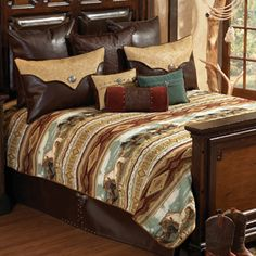 Western Bedding ~ Free Running Horses Collection