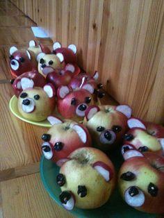 Éva Papp fényképe. Watermelon, Bear, Apple, Fruit, Crafts, Food, Health, Projects, Animals