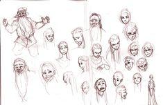 Facial Expressions by ancalinar