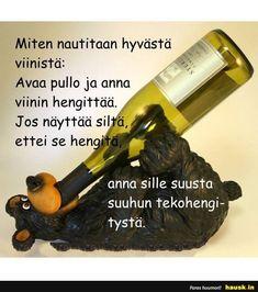 Miten nautitaan hyvästä viinistä... - HAUSK.in