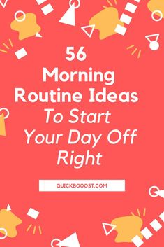 56 Morning Routine Ideas To Start Your Day Off Right Use these morning routine ideas to start your day off on the right foot. Utilize them to be more productive, enhance your time management, and achieve your goals! Time Management Activities, Time Management Printable, Time Management Quotes, Management Books, Time Management Skills, Productive Things To Do, Things To Do At Home, Productive Day, High School Activities