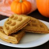 Wake up to tasty Vegan Gluten Free Pumpkin Spice Waffles that you'll want to make all year and not only in the fall.