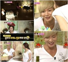 Kang Sora plants a kiss on Leeteuk for his birthday on 'We Got Married' happy memory <3