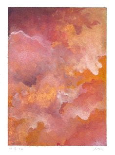 Original Abstract Painting  Modern Watercolour  by KiteFlier, $30.00