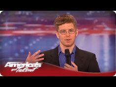 Nerdy Comedian Makes the Judges Laugh - Americas Got Talent Season 7 - ...