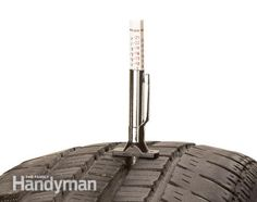 Know when to buy new tires - Truck & SUV Tire Buying Guide: http://www.familyhandyman.com/automotive/tires/truck-suv-tire-buying-guide/view-all