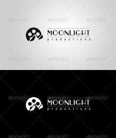 "Moonlight Productions Logo  #GraphicRiver         An unique look and feel with a simple play of negative space. Suitable for video production companies, movies, games, magazines, etc.  	 Font used for ""MOONLIGHT""is Fashion Victim. For """"productions"" the font is called BabelSans.  	 Here is the link to them:   .dafont /fashion-victim.font  .dafont /babel-sans.font 	 Thanks      Created: 9October12 GraphicsFilesIncluded: VectorEPS #AIIllustrator Layered: No MinimumAdobeCSVersion: CS5…"