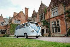 www.bluepumpkinvwweddinghire.com Campervan, Vehicles, Wedding, Valentines Day Weddings, Car, Weddings, Marriage, Chartreuse Wedding, Vehicle