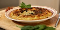 #SabíasQue Fritata significa frito en italiano y aquí te dejamos una rica #FritataDeEspinaca.