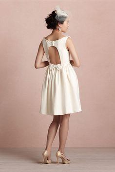 Ribboned Garland Dress in SHOP Bridesmaids & Partygoers Dresses at BHLDN