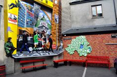 Belfast's politische Streetart - treibholzeffekt.com