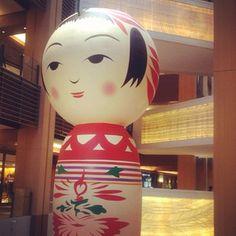 Hanako the Giant Kokeshi Doll, Yotta Groove, Roppongi Art Night