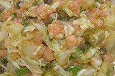 Γαριδοσαλάτα. Νηστίσιμη σαλάτα με γαρίδες...