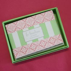 I'm selling Folded Notecards - Pink Lace - box of 10 - A$8.00 #onselz
