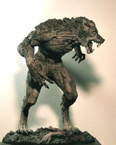 Werewolf by LocascioDesigns.deviantart.com on @deviantART