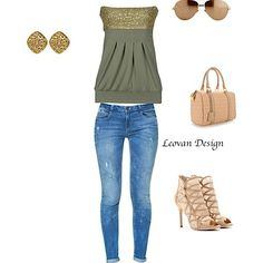 #jeans #beige #shoes